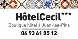 HôtelCecil***/Juan-les-Pins